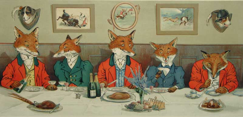 The Foxes Hunt Breakfast on Xmas Day